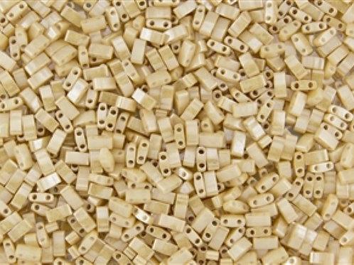 Miyuki Half Tila Beads - Lt. Caramel Ceylon 7.8g