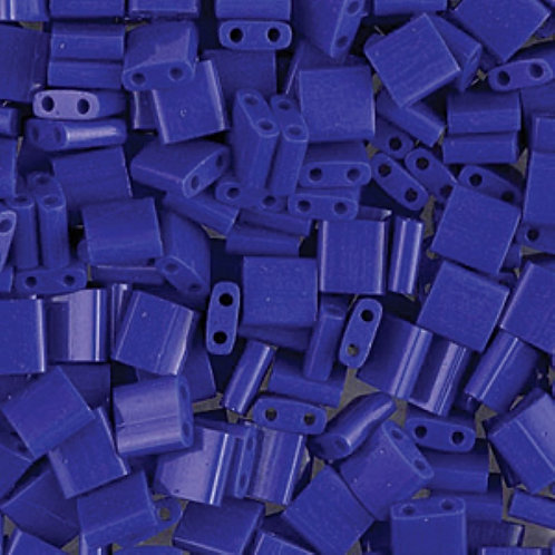 Miyuki Tila 5mm Opaque Cobalt  TL414