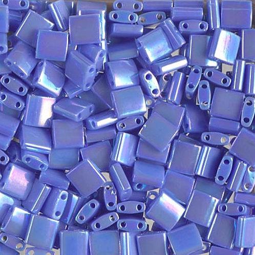 Miyuki Tila Beads 5mm - Opaque Periwinkle 10g