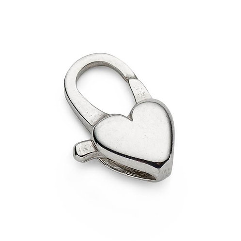 BeadMaster Heart Cast Clasp-Sterling Silver .925