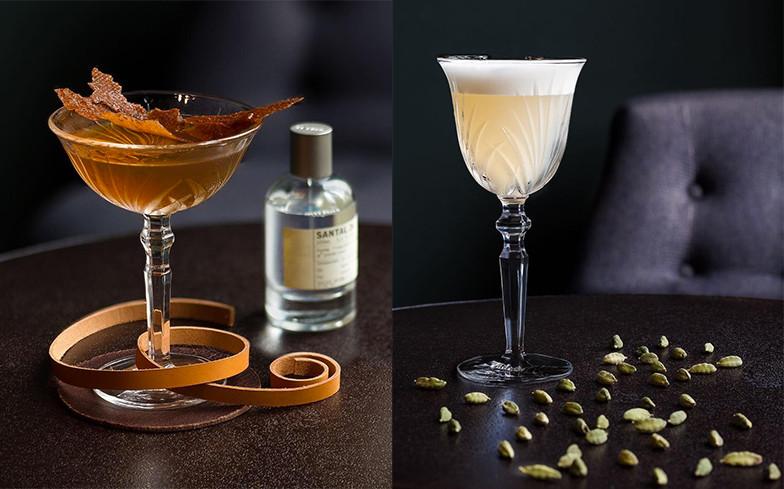 Ideias bebidas com perfumes