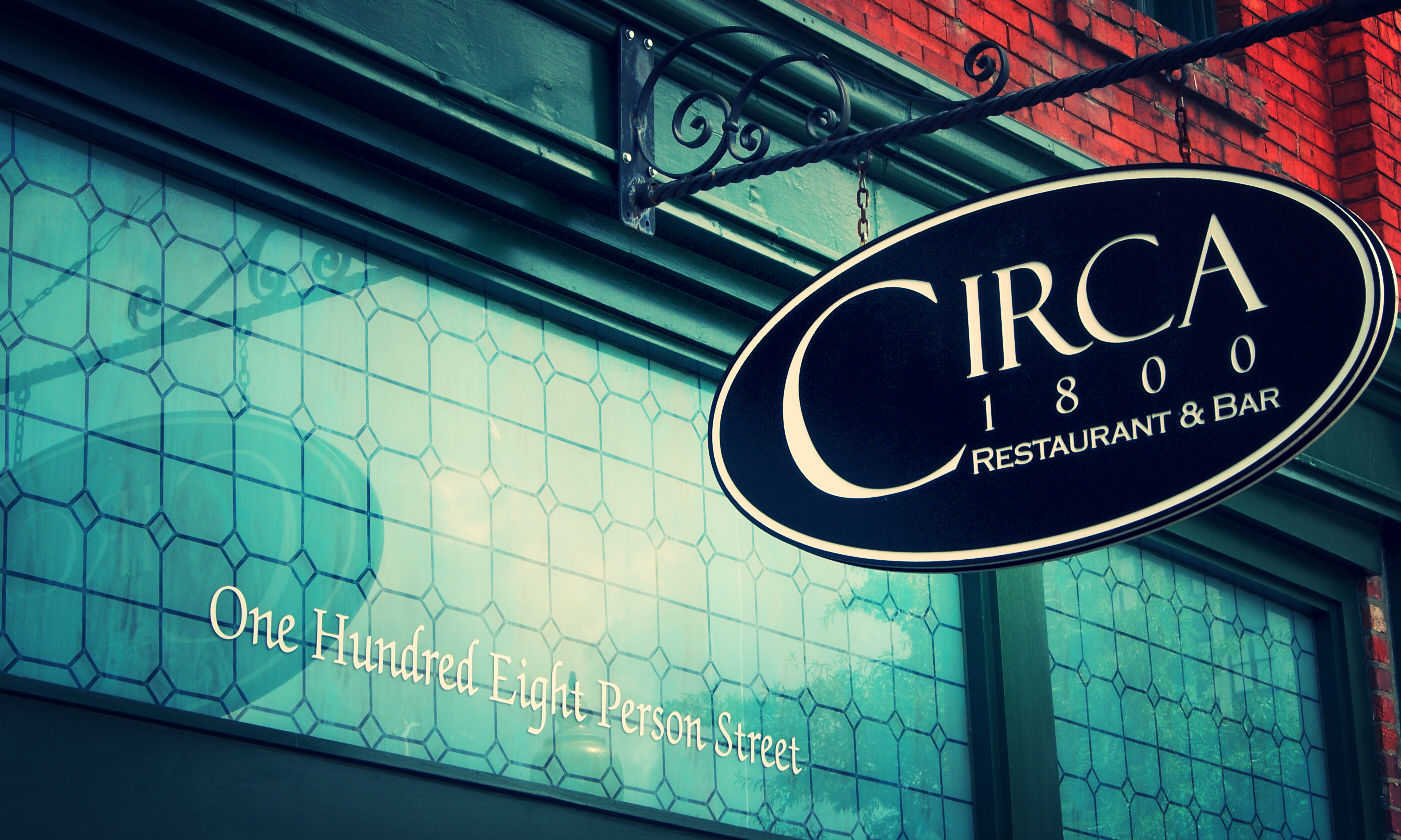 CIRCA 1800 Downtown Fayetteville's Dining Destination