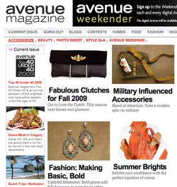 Avenue Magazine Nov 2009