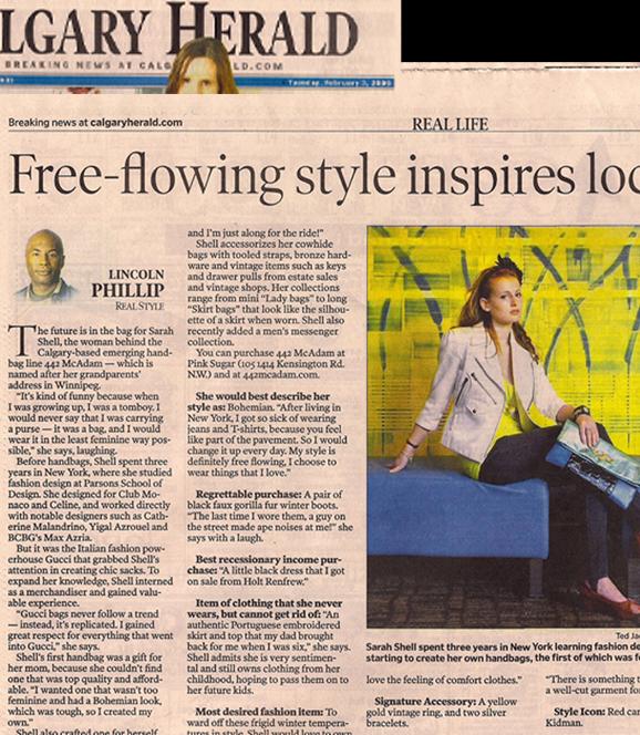 Calgary Herald 2009