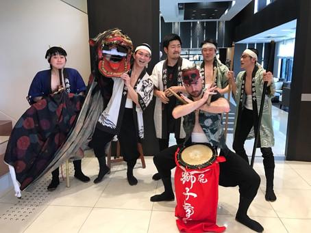 結婚お祝い獅子舞in金沢