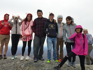 Hiking Mt. Monadnock