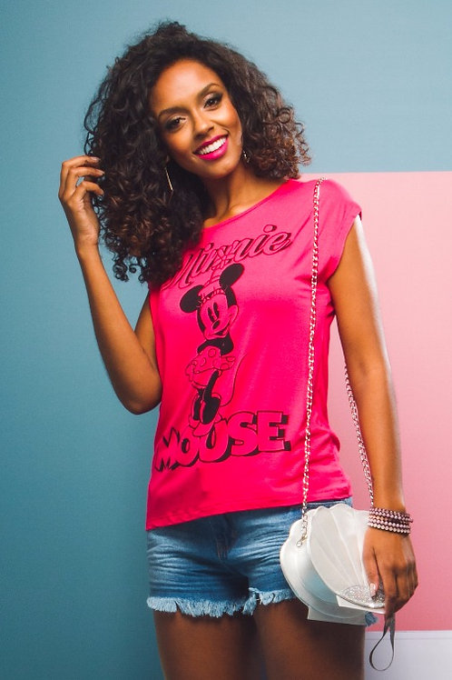 Blusa Minne Mouse