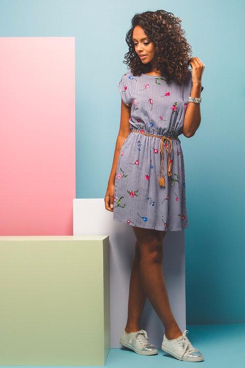 Vestido Floral c/ Cinto