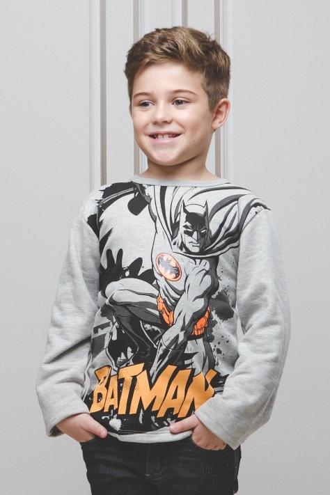 Blusa de Moletom Estampa Batman
