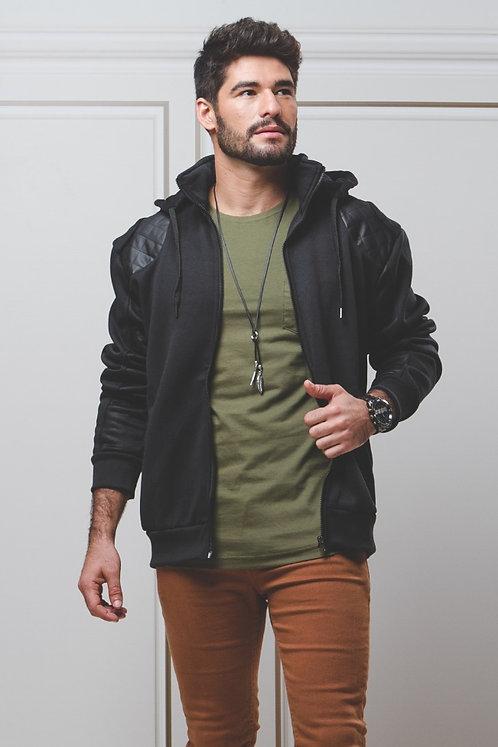 Jaqueta de Moletom c/ Capuz