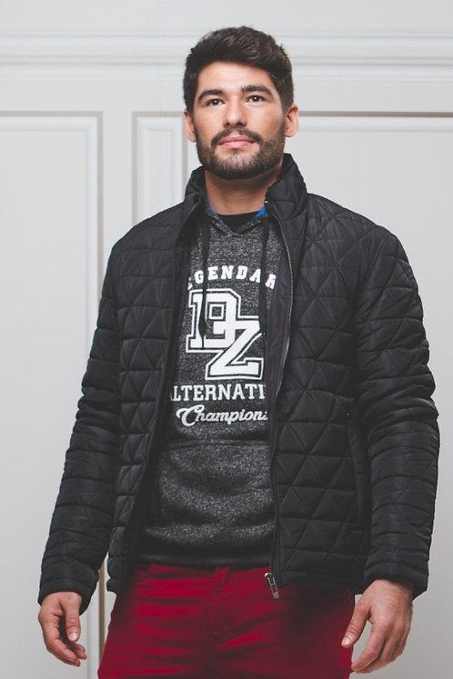 Jaqueta em Nylon Matelassê