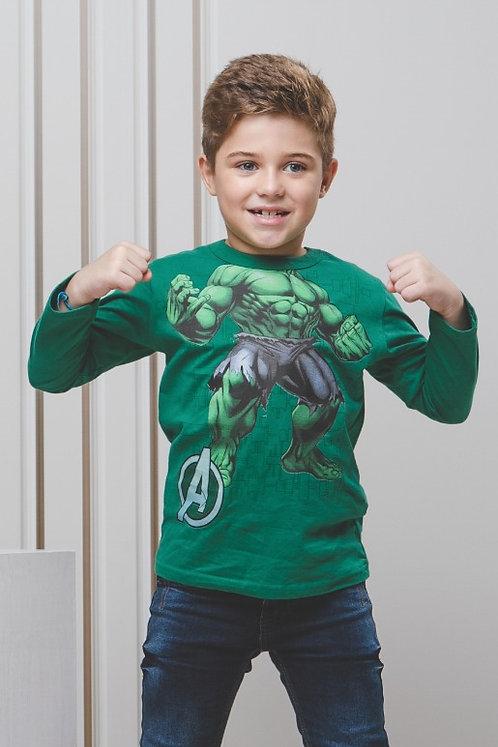 Camiseta Manga Longa Avengers