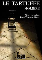 Affiche Le Tartuffe de Molière
