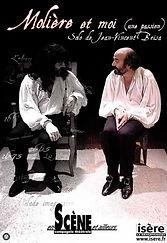 Affiche Molière et moi de Jean-Vincent Brisa