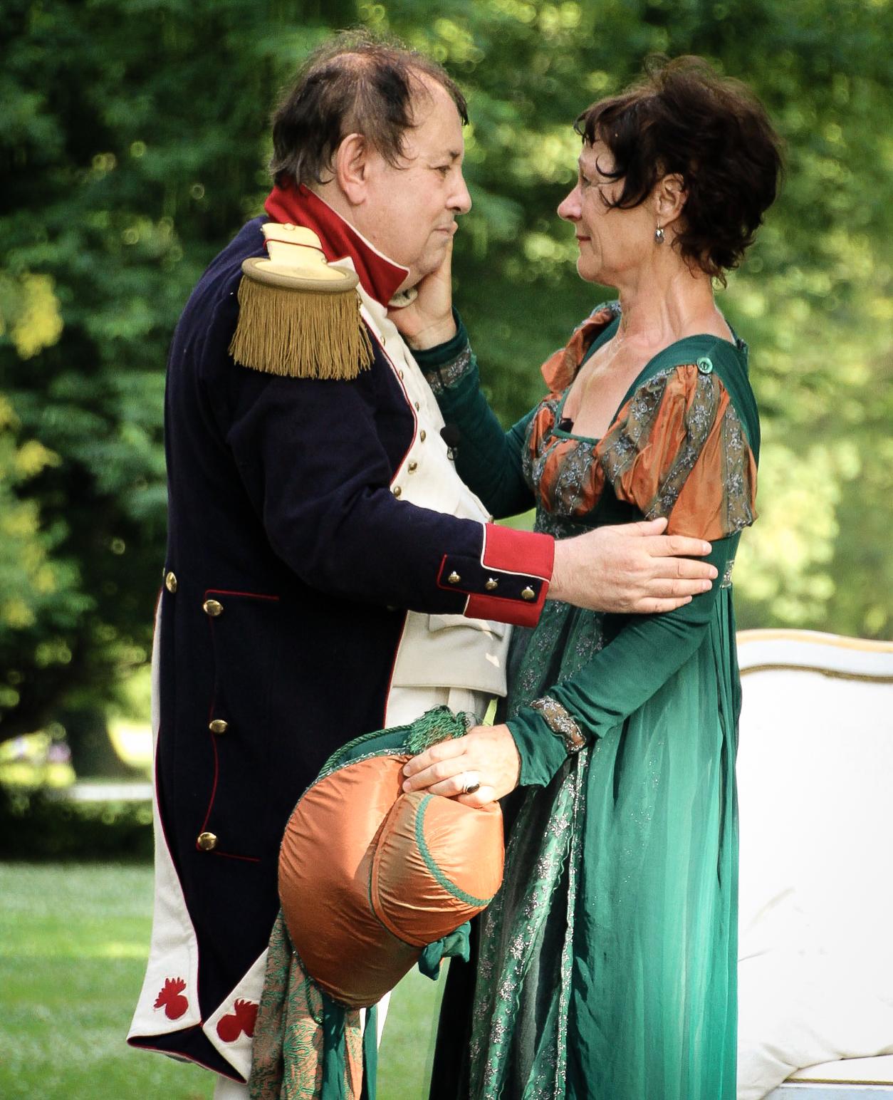 Napoléon et Letizia