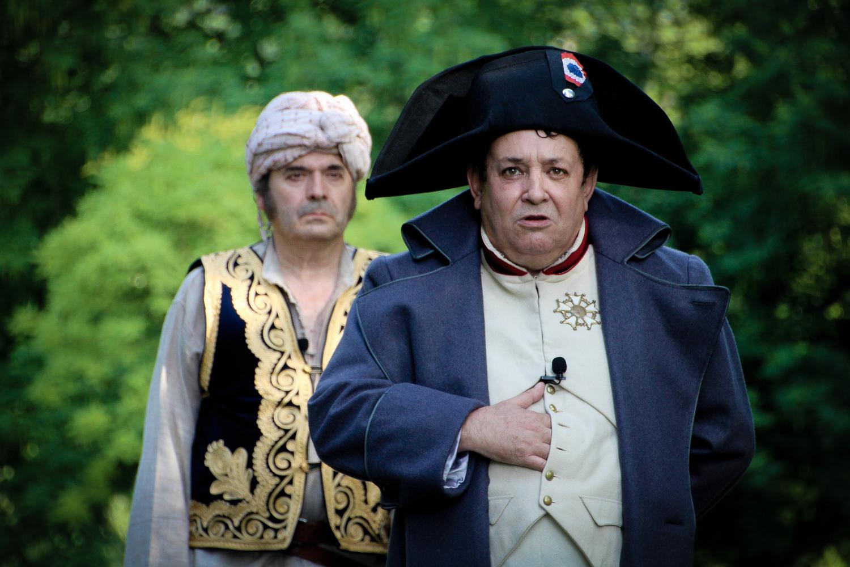 Napoléon et le Mamelouk Ali