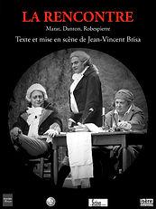 Affiche La Rencontre de Jean-Vincent Brisa