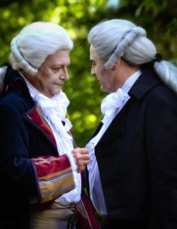 Robespierre et Danton