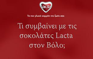 Volos + Lacta = Love