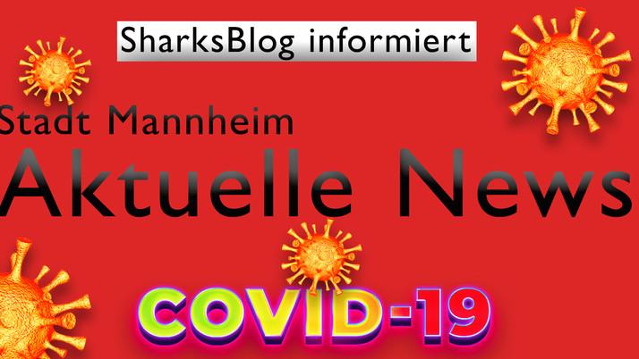 Stadt Mannheim:  Aktuelle Meldung zu Corona in Mannheim 28.08.2020