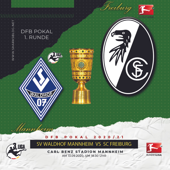 DFB Pokal 2020/21 - 1. Runde