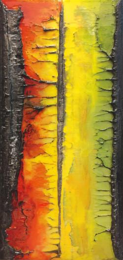#0499 La vie en couleur (27 x 12po)