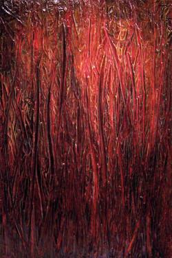 """0028 Médium-Gouache ROUGE (32 x 48"""")"""