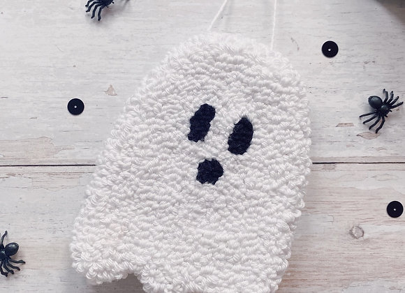 White Ghost Wall Charm