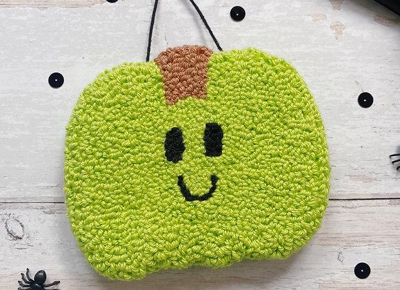 Green Pumpkin Wall Charm