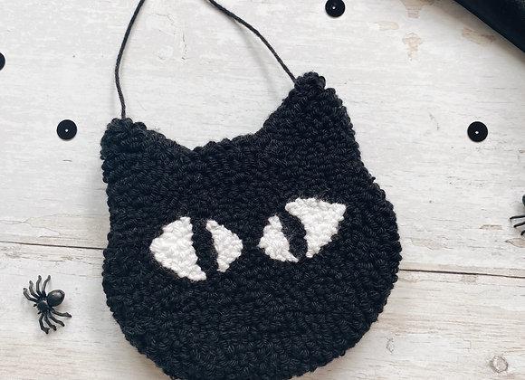 Black Cat Wall Charm