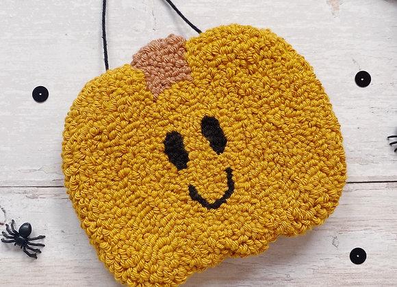 Mustard Pumpkin Wall Charm
