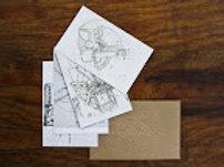 Postales de proyectos Rogelio Salmona