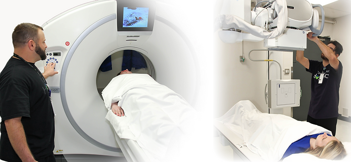 Image of MRI scanning and X-Ray