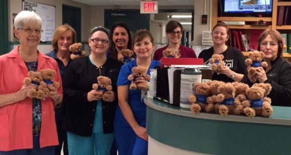 Image of Cleveland Area Hospital Auxiliary members and Nurses