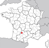 Carte AOC Cahors