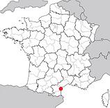 Carte AOC Languedoc quatourze