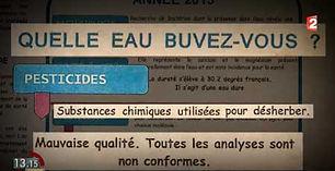 Analyse de la qualité de l'eau à Pouilly Sur loire par l'ARS France2