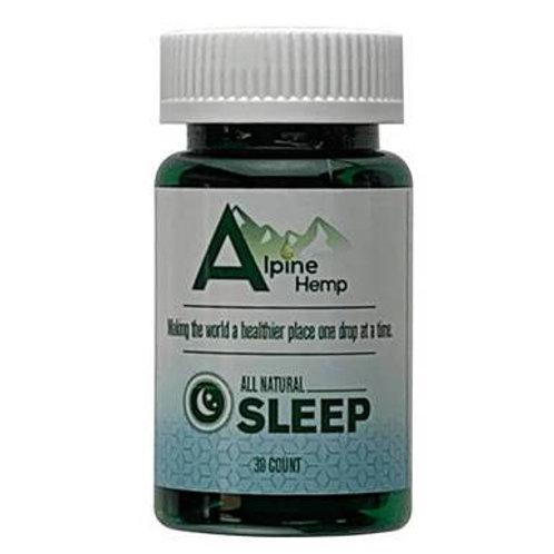 Alpine Hemp - CBD Capsule - Sleep - 20mg