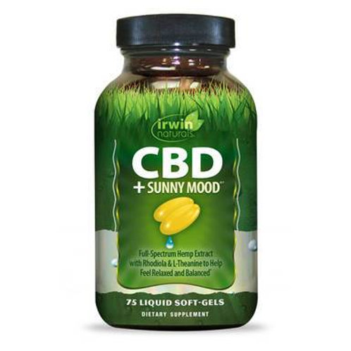 Irwin Naturals - CBD Capsules - CBD + Sunny Mood - 30mg