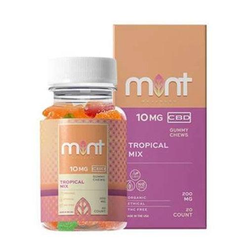 Mint Wellness - CBD Edible - Tropical Gummies - 10mg