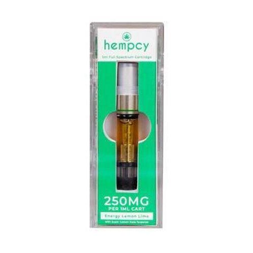 Hempcy - CBD Vape Cartridge - Energy Lemon Lime - 250mg-500mg
