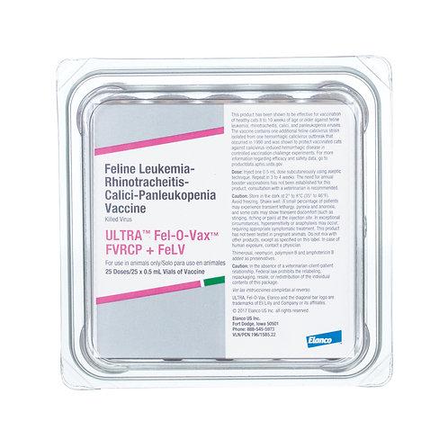 Ultra Fel-O-Vax FVRCP+FELV (1 Dose)