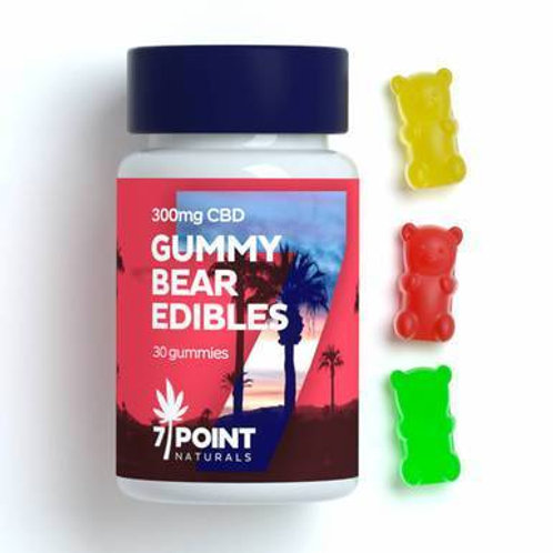 7 Point Naturals - CBD Edibles - Gummies 30 Count - 300mg