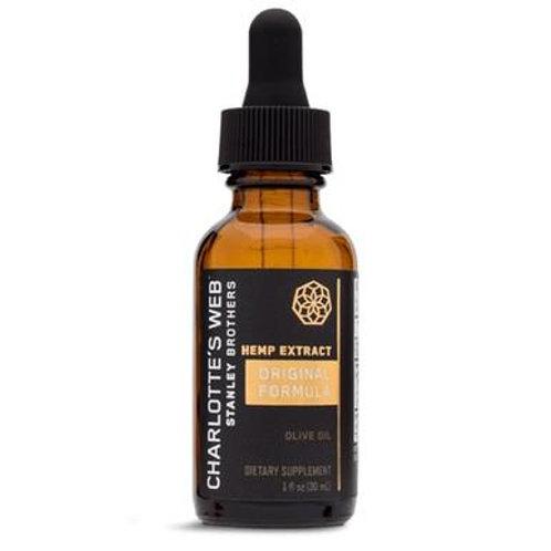 Charlottes Web - CBD Tincture - Original Formula Olive Oil (Natural) - 50mg/1mL