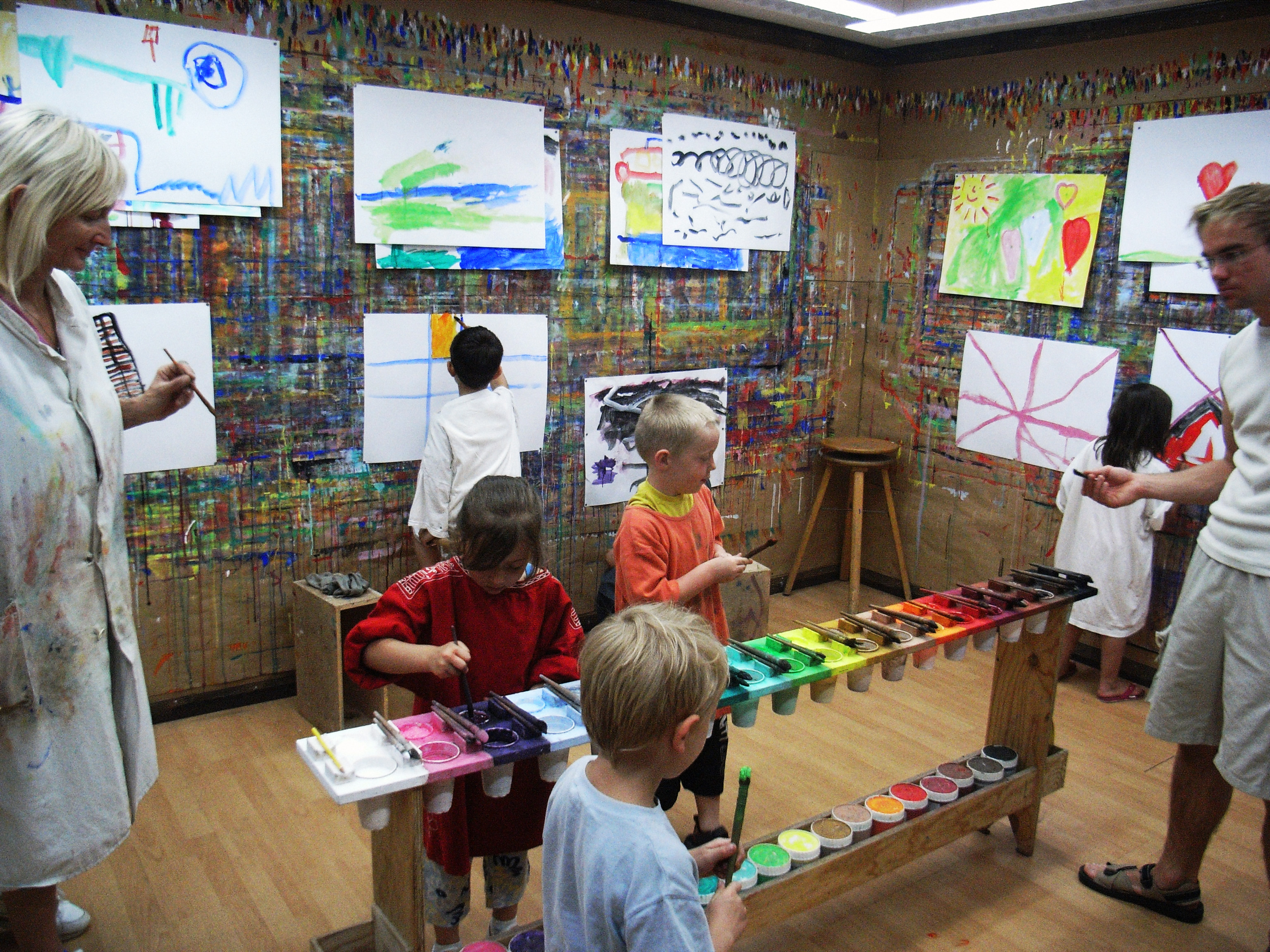 Kindergarten im Mal-Ort