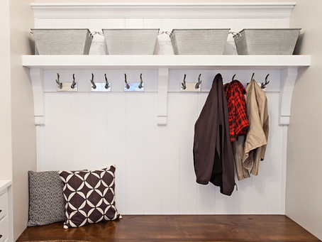 Mudrooms & Message Centers