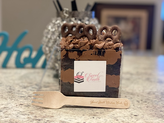 Sweet Tooth Cube cake