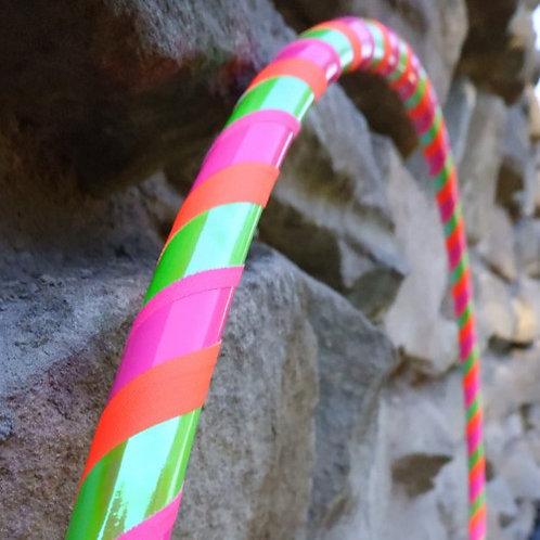 Pestrobarevná obruč hula hoop