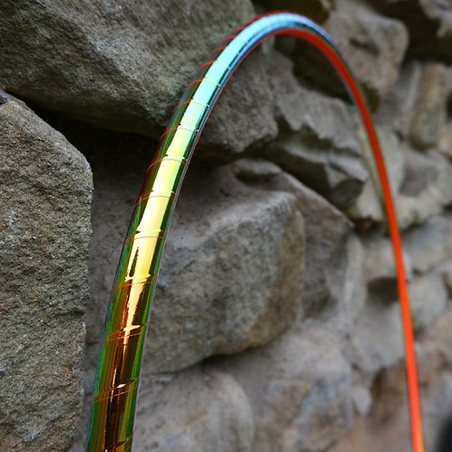 Green fire měnící obruč hula hoop