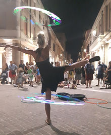 Busking in Italy